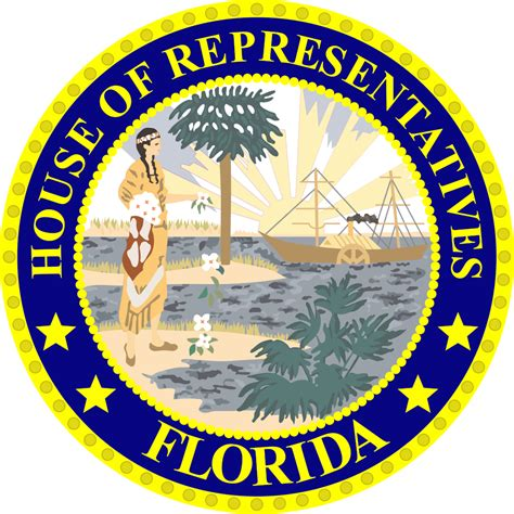 Seal Criminal Record In Florida File Florida House Seal Svg Wikimedia Commons