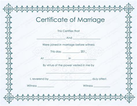 sle marriage certificate models open basic