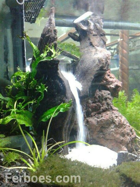 how to make aquascape how to make a waterfall sand in the aquarium underwater aquariums and fish tanks