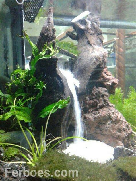 aquarium design waterfall how to make a waterfall sand in the aquarium underwater