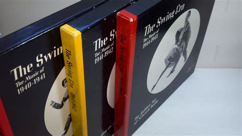 swing era the swing era time lp box set fonts in use