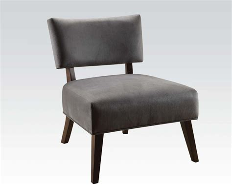 Gray Accent Chair Acme Furniture Gray Accent Chair Ac59163