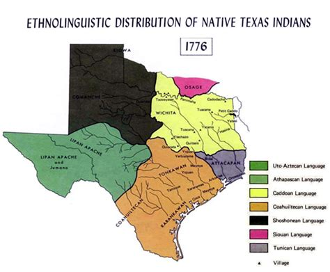 indian tribes in texas map texas map american tribes