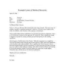 Letter Of Necessity Template by Best Photos Of Sle Necessity Appeal Letters
