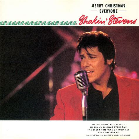 shakin stevens merry christmas  cd album discogs