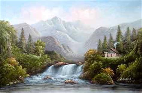 contoh wallpaper alam artblog kumpulan wallpaper lukisan pemandangan alam