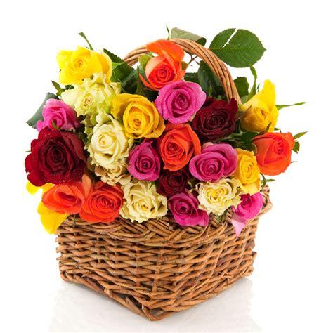 acquisto fiori cesto di variopinte acquisto fiori on line