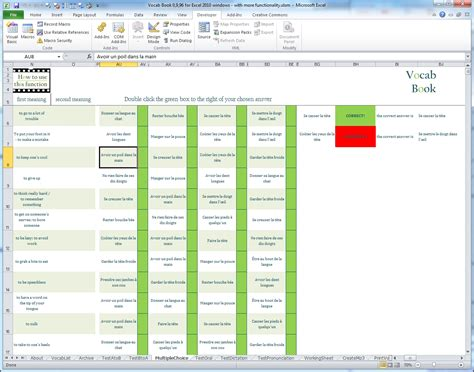 format excel language powerful and fully featured excel based vocabulary