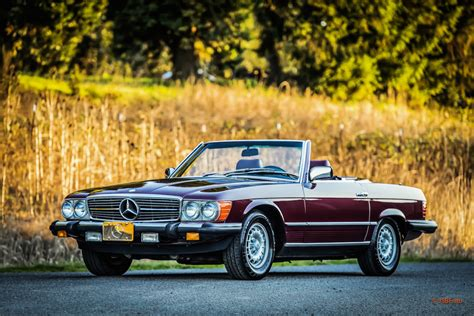 mercedes convertible 1985 mercedes 380sl roadster convertible 79k lots of