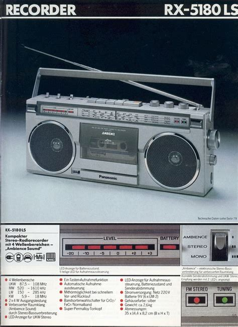 1980 1981 Audio Radios And Audio 1604 best radio cassettes images on boombox