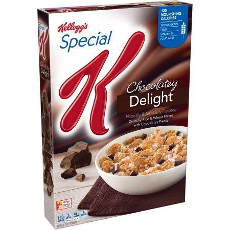 special k whole grains kellogg s special k chocolatey delight cereal 13 1 oz