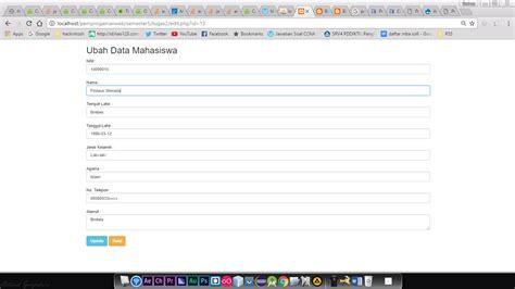 tutorial php list pengertian dan tutorial crud pdo di php firdaus n s