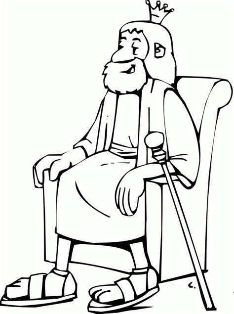 coloring pages for king david king david coloring pages coloring home