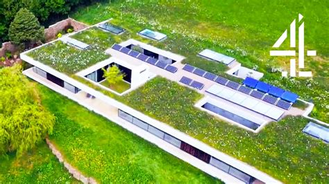 grand designs hill house the camouflaged artist studio in the hill grand designs house of the year youtube