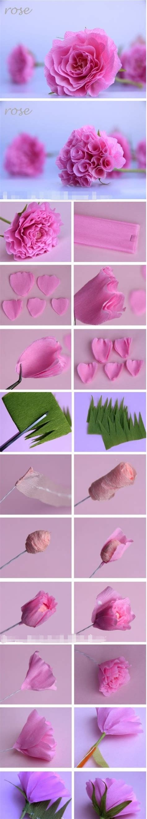 How To Fold Crepe Paper - how to diy beautiful crepe paper centerpiece www