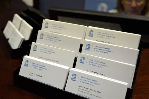 Unc Business Card Template by Unc Ch Resources The Center For Faculty Excellence