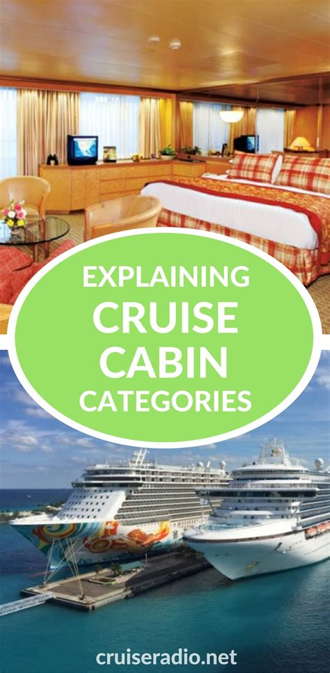 Cruise Line Cabin Categories by Cruise Stateroom Categories Explained Cruise Radio