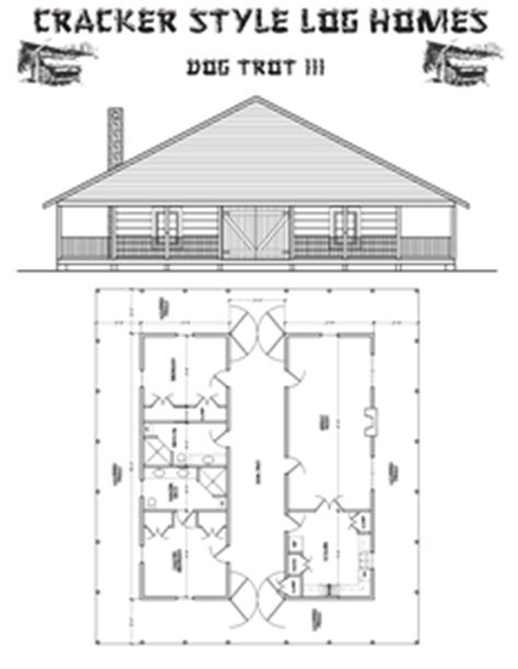 dog trot style floor plans dog trot house plan summer