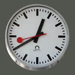 Clock swiss railway clock wikipedia