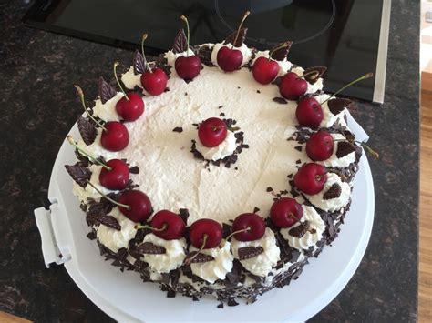 Einfache Torten by Einfache Schwarzwaldschnitten Bzw Torte Rezept Mit Bild