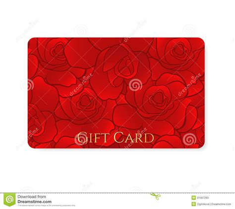 Flower Gift Card - gift card discount card business card flower stock photos image 31567293