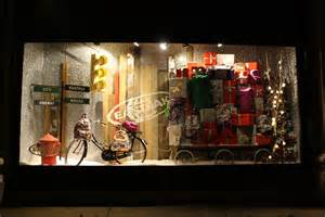 Home Made Xmas Decorations Christmas Window Display Selfridges International Visual