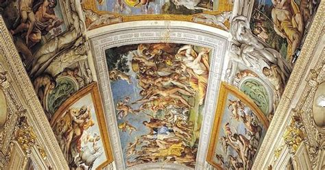 Who Began The Tradition Of Illusionistic Ceiling Painting by Caracci Of The Gods 1600 Illusionistic Ceiling
