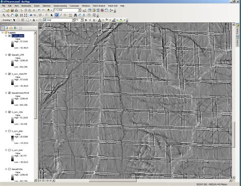 grid like arcgis desktop grid like lines appearing after using