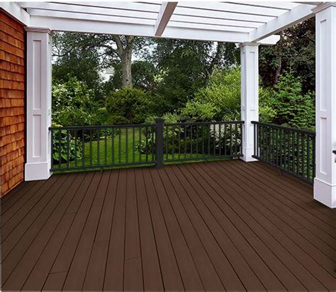 Azek Porch Flooring by Azek Harvest Collection Kona Solid 20 Schillings