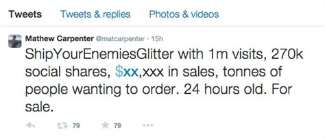 ship your enemies how ship your enemies glitter became a viral hit