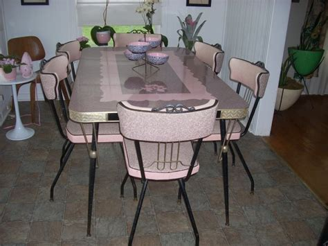 pink kitchen table pink kitchen table and chairs vintage kitchen formica