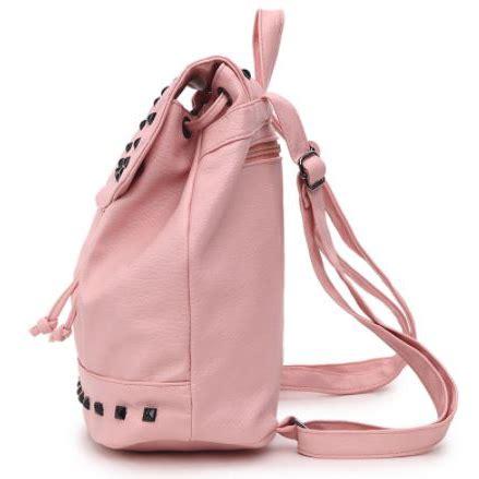 Tas Ransel Mini Korea tas ransel mini gaya korea untuk wanita black