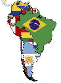 south america map with flags great international resources for students teachers