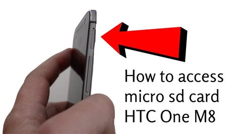 how to make sd card work again how to access remove micro sd card htc one m8