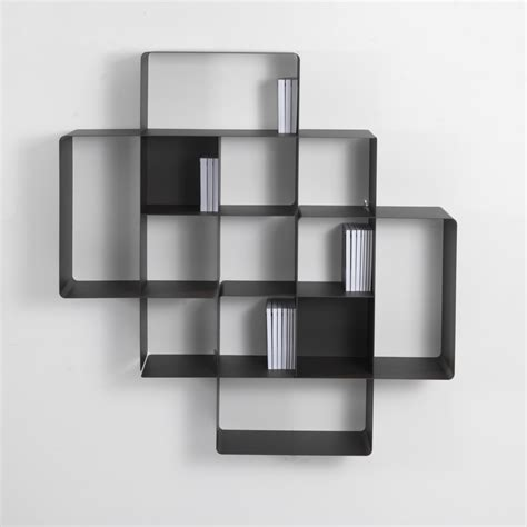 libreria a parete moderna mondrian libreria a parete moderna in metallo componibile