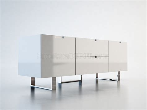 White Lacquer Media Cabinet by Md211 Laq Eldridge Media Cabinet By Modloft In White Lacquer