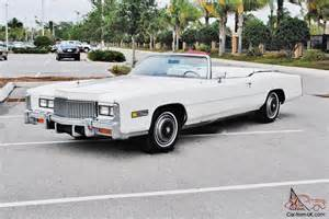 Cadillac Eldorado Convertible 1976 Absolutly Beautiful 1976 Cadillac Eldorado Convertible