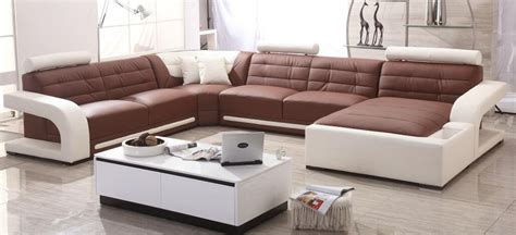 New Design Of Sofa Sets by Aliexpress Buy Modern Sofa Set Leather Sofa With