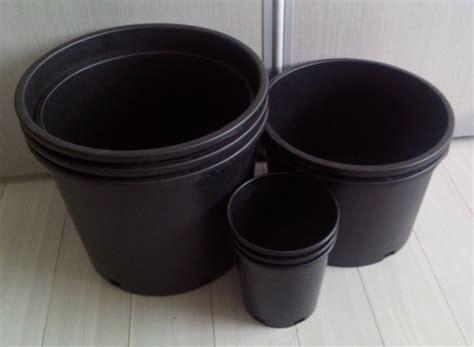 Bunga Plastik Pot hitam pembibitan plastik pot bunga pot bunga hitam besar jenis pot plastik pot bunga