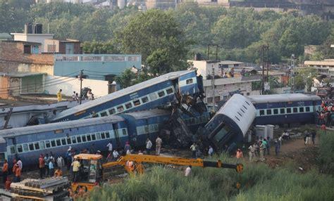 boat crash by skyway train crash in uttar pradesh india kills at least 23 and