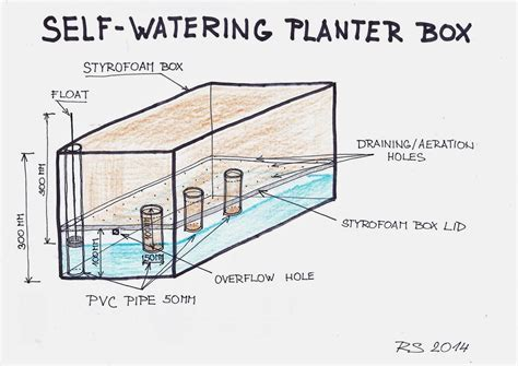 how to make a self watering planter spurtopia our sustainable living story spurtopia s invention self watering planter box