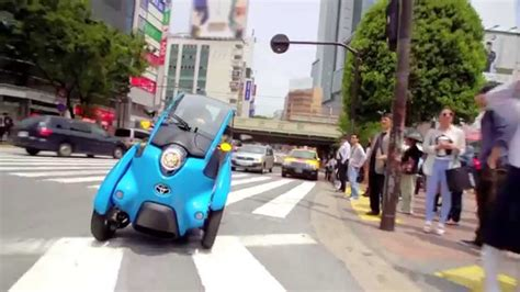 i road toyota i road test driving in tokyo