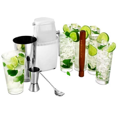 Set Mekar mojito cocktail kit cocktail kit cocktail shaker