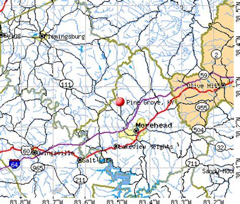 california ky map pine grove kentucky ky 40351 profile population maps