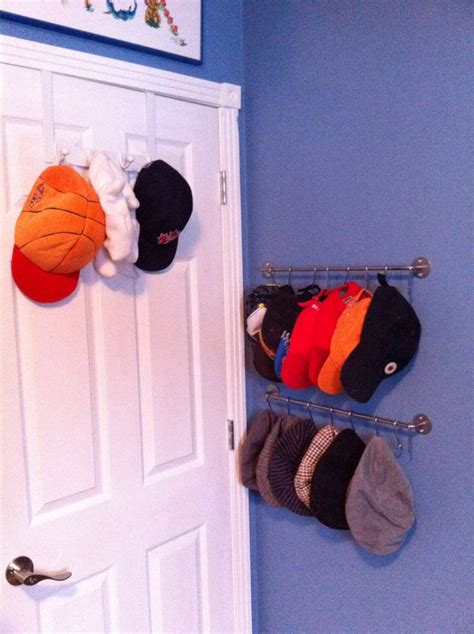 way to store baseball caps for the home