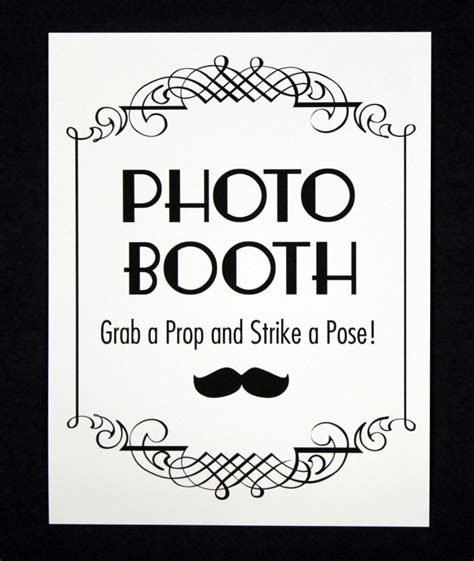 printable photo booth prop signs instant pdf downlaod photo booth sign photo booth prop