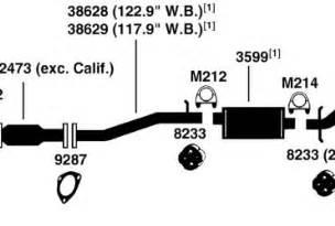 2001 Chevy Blazer Exhaust System Diagram Chevy S10 Exhaust System Diagram Wedocable