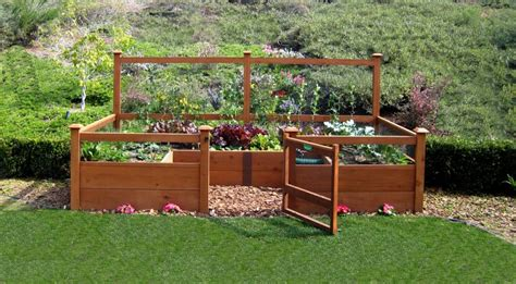 vegetable garden kits just add lumber vegetable garden kit 6 x12 deluxe