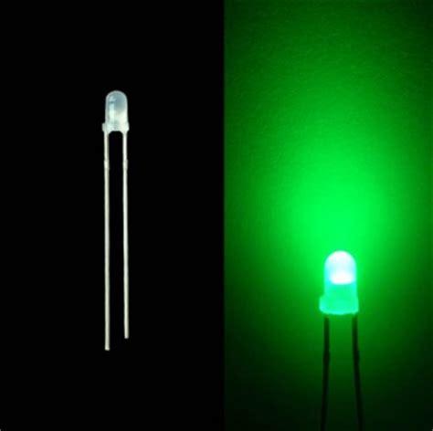 Led 5mm Green Led 5mm Diffused Green Hijau Lu Led Diode High Qualit led mount holder for 3mm 5mm 8mm 10mm leds kiwi lighting