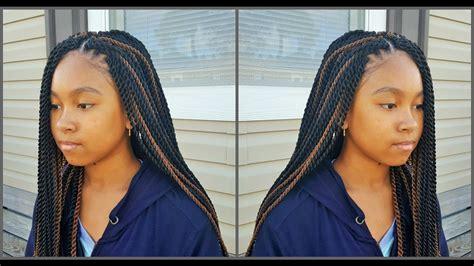 crochet braids  teens kid friendly braid styles